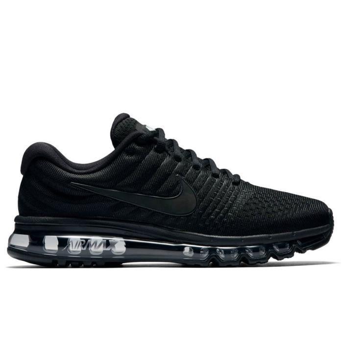 Nike Achat Chaussures 849559 Vente 2017 Max Air Noir 004 POXn80wk
