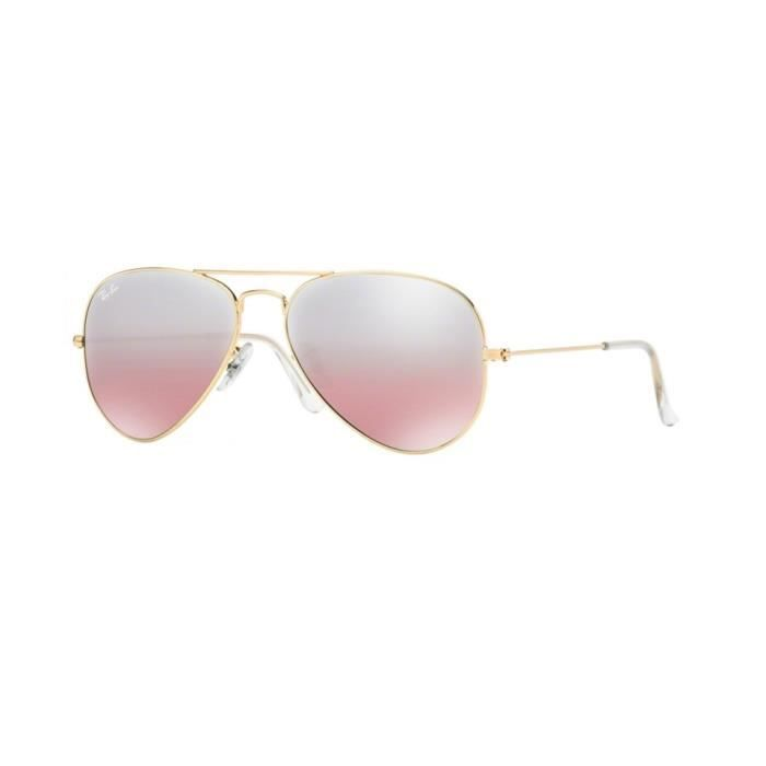 Lunettes de soleil Ray-Ban HommeAVIATOR LARGE METAL RB3025 001/3E Or55 x 47,5