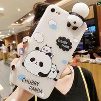 HOUSSE - ÉTUI Housse iPhone 6 6S pour femme Trois Pandas modèle