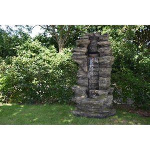 UBBINK Fontaine de jardin Cleveland 180x91x70cm - Marron