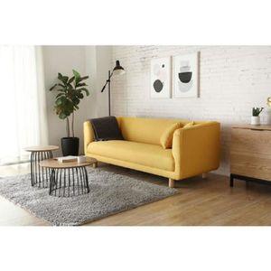 canape scandinave jaune achat vente pas cher. Black Bedroom Furniture Sets. Home Design Ideas