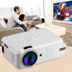 Vidéoprojecteur Excelvan 800 * 480 EHD02 Smart Vidéoprojecteur Por