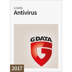 BUREAUTIQUE À TÉLÉCHARGER G Data Antivirus 2017 1 Poste / 1 An / Version dém