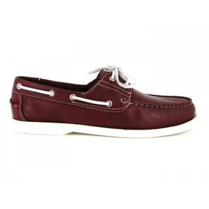 Bordeaux Couleur Bateaux Rouge J BOAT BRADFORD JB Chaussures UHOHRA