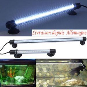 ÉCLAIRAGE 18-62cm blanc LED Lampe submersible pour aquarium