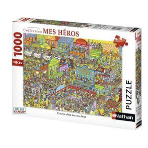 PUZZLE OU EST CHARLIE ? Puzzle Cow-Boys 1000 pcs