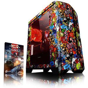 UNITÉ CENTRALE  VIBOX Submission 29.1 PC Gamer - AMD 8-Core, Gefor