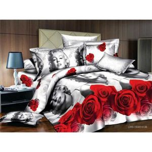 couette marilyn monroe achat vente couette marilyn monroe pas cher cdiscount. Black Bedroom Furniture Sets. Home Design Ideas