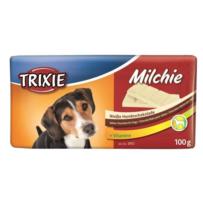 TRIXIE Chocolat Milchie - Pour chien - 100g