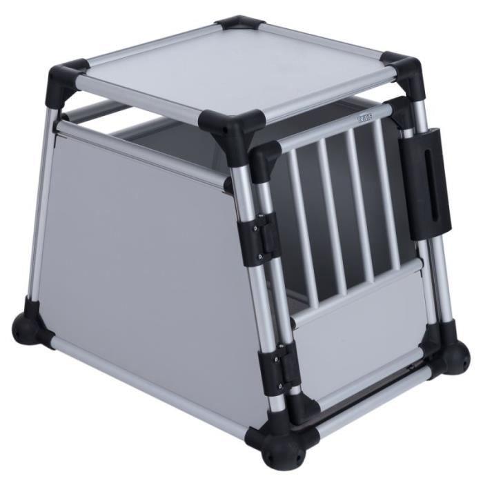 CAISSE DE TRANSPORT  Cage de transport Trixie en aluminium pour chien,