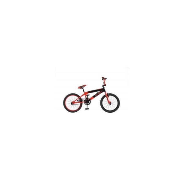 """VÉLO BMX VELO BMX FLYER 20"""" freestyle -rouge-noir"""
