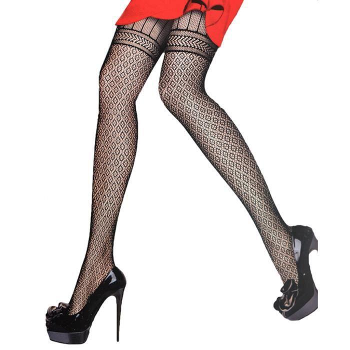 Collant noir femme motif - Achat   Vente pas cher 24d2d4d9faf