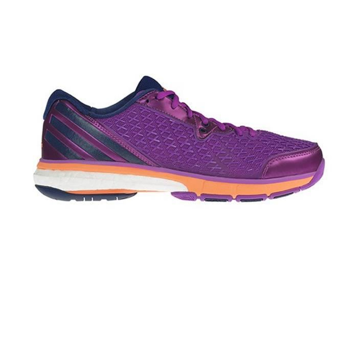Chaussures Adidas Fluo Energy Boost Rose Volley Femme Fd