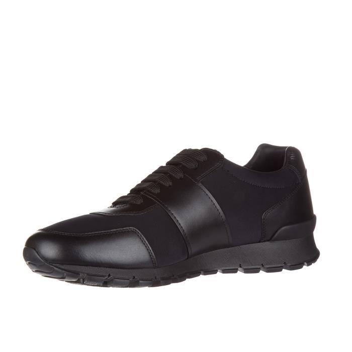 Chaussures baskets sneakers homme en cuir golf Prada