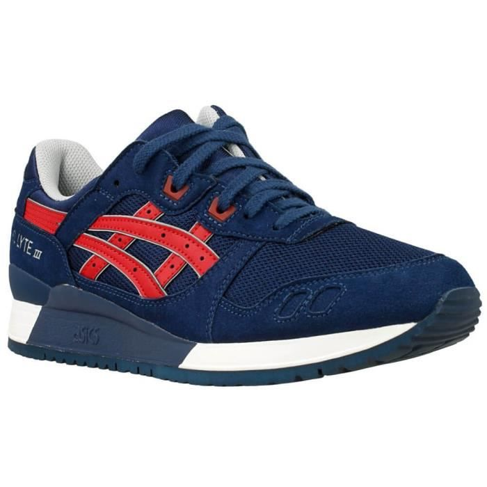 Chaussures Asics Gel Lyte Iii Rouge - Achat   Vente basket - Cdiscount 2fcb6fb6c7d2