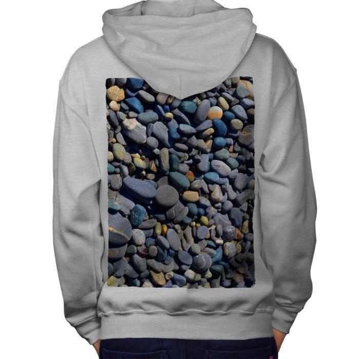 à vendre vendu dans le monde entier rencontrer Roche Côte Mer Art La nature Petit Des roches Men Sweat à capuche le dos |  Wellcoda