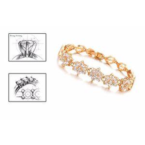 ... BRACELET - GOURMETTE Deessesale®Femmes zircon fine diamant plaqué Handm  ... ad682d4ac9cf