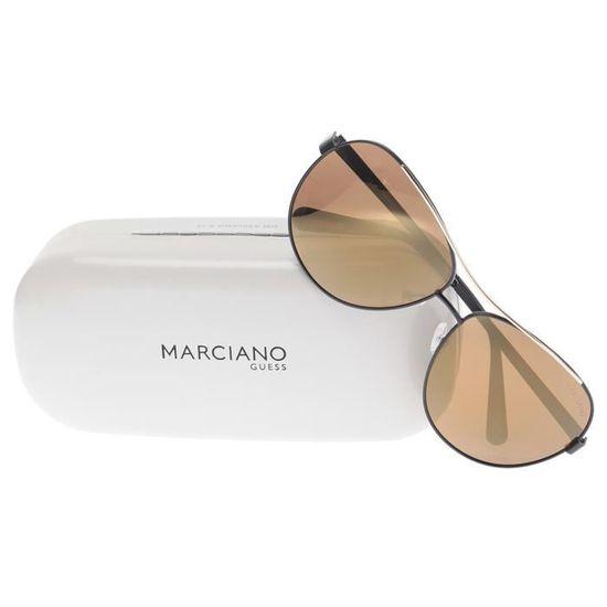 GUESS BY MARCIANO Lunettes de soleil GM0726 Femme Noir et doré - Achat    Vente lunettes de soleil Femme - Soldes  dès le 9 janvier ! Cdiscount eba2438b35e6