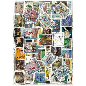 TIMBRE Cote D Ivoire -  100 timbres collection différe…