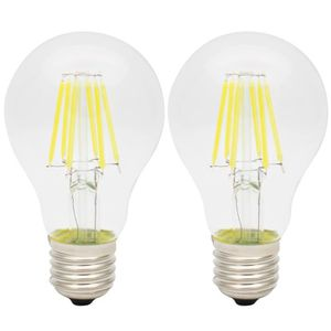 AMPOULE - LED 2X E27 Edison LED 6W Ampoule à Filament LED Ampoul
