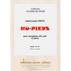 PARTITION Nu-Pieds - Jean-Louis PETIT - Saxophone alto Mib