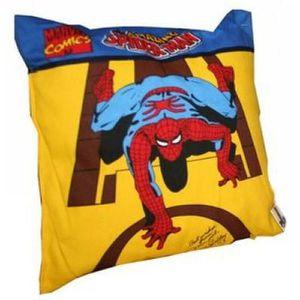 COUSSIN SPIDERMAN - Marvel - Coussin jaune 20 x 20 cm