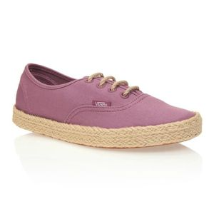 CHAUSSURES MULTISPORT VANS Chaussures Authentic Espadril Canvas Grape Fe