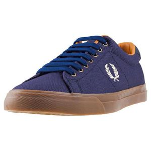 BASKET Fred Perry Underspin Heavy Waxed Hommes Baskets Mi