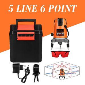 NEUFU 5 Ligne 6 Point Automatique Niveau Laser Level 360° Rotatif  Measurement AC DC 5d804cfa9570