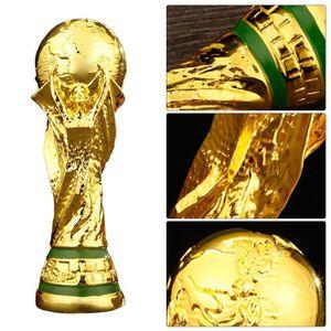 TROPHÉE - MÉDAILLE Lot de 2 Pcs 36 cm Réplique trophée World Cup Répl