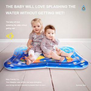 TAPIS ÉVEIL - AIRE BÉBÉ 101*81cm Tapis d'eau Centre de Jeu Gonflable de bé
