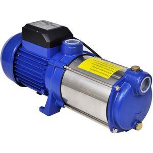 POMPE ARROSAGE Pompe à eau de surface bleue 1 300 W 5 100 l/h