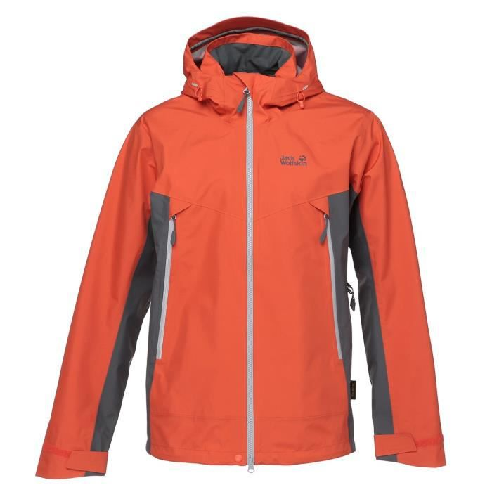 JACK WOLFSKIN Veste Refugio Flex Mango Orange Homme