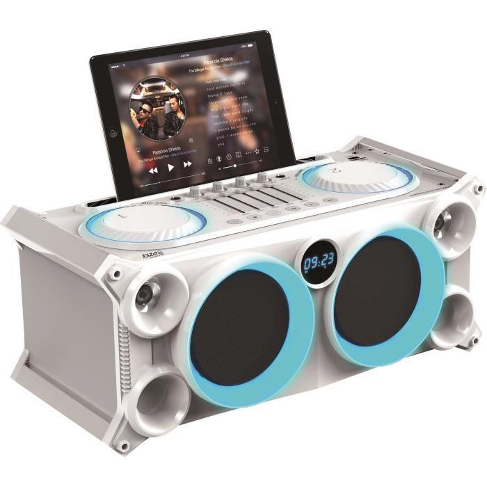 IBIZA SOUND SPLBOX200-WH Système audio stéréo mobile - 200W