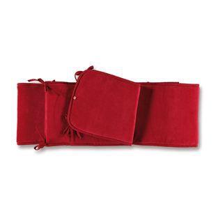 Baby Boum Tour de lit parc 75 x 95 cm rubis rou… Rouge - Achat ...
