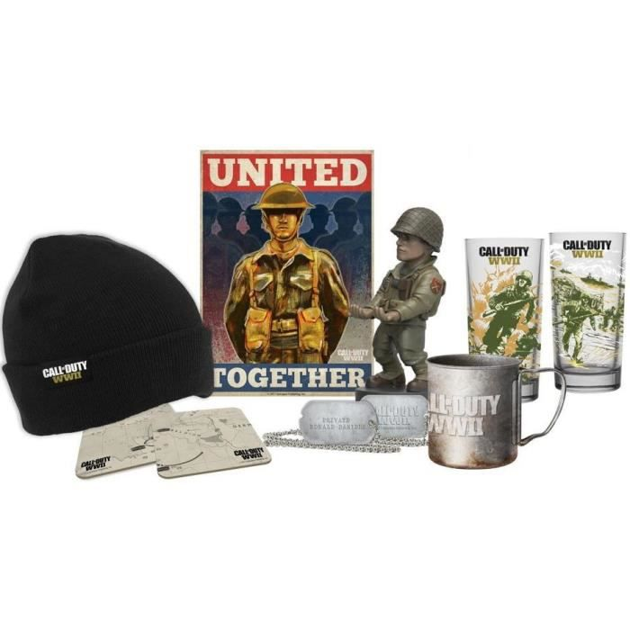 FIGURINE - PERSONNAGE Big box Call of Duty WWII