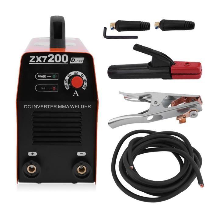 Machine de soudure électrique Inverter DC 220V Poste à souder miniature de  ménage de noyau de cuivre f4e879273b95