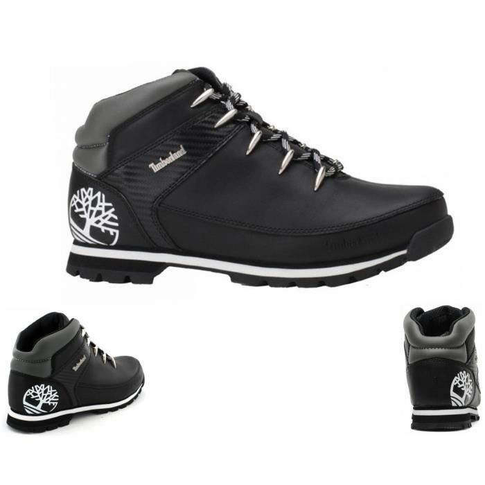 timberland blanche et grise