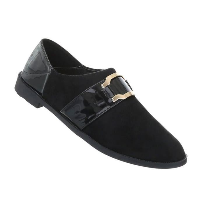 Chaussures femmes flâneurs moderne noir 39
