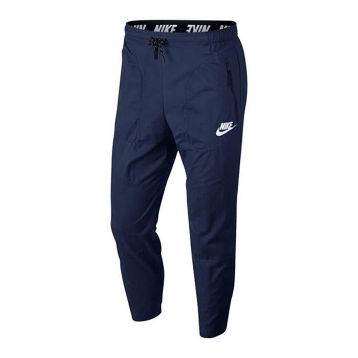 79b9bf753e1 Pantalon de survêtement Nike Advance 15 - 885931-429 Bleu Bleu ...