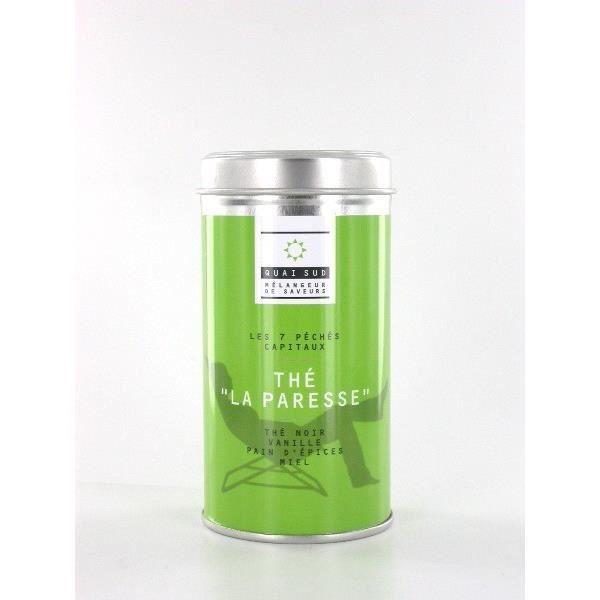 THÉ Thé La paresse - Vanille - pain d'épices - miel