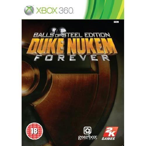 JEUX XBOX 360 Duke Nukem Forever: Balls of Steel Edition Xbox…