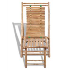 fauteuil jardin avec repose pieds achat vente pas cher. Black Bedroom Furniture Sets. Home Design Ideas