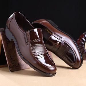 Fibre doux Chaussures en cuir de mariage d'hiver d'homme d'affairesnoir 44 AY20170906LS0155 UPQhC9