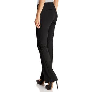 Pantalon noir coupe droite femme achat vente pas cher - Pantalon coupe droite femme pas cher ...