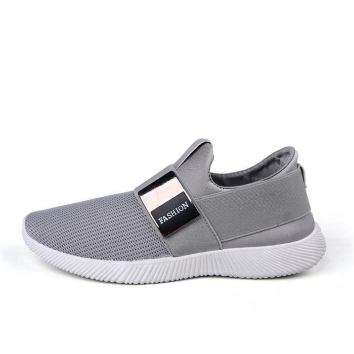 Basket Homme Ultra Léger Chaussures De Sport Populaire BTYS-XZ131Gris39