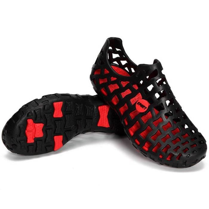 Plat Creux Antidérapant Pluie Unisexe Sandales Flops Chaussons Flip Coloré Chaussures Été Tongs Plage Respirant ITTxqRPn