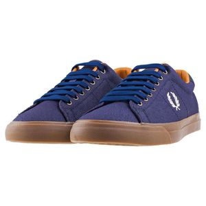 Bleu Fred Baskets Perry UK Underspin 9 Heavy Hommes Midnight Waxed cS0P0Rr6q