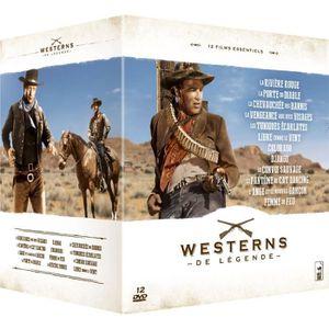DVD FILM COFFRET LEGENDES DU WESTERN /V 12DVD