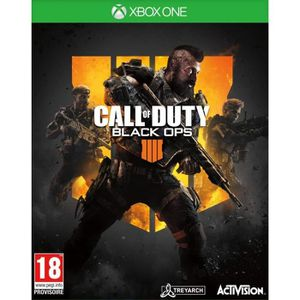 JEU NINTENDO SWITCH Call of Duty Black OPS 4 Xbox One + 1 manette Xbox